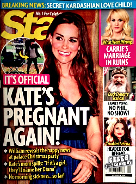 Kate Middleton's Pregnant Again -- Second Royal Baby Officially on the Way? (PHOTO)