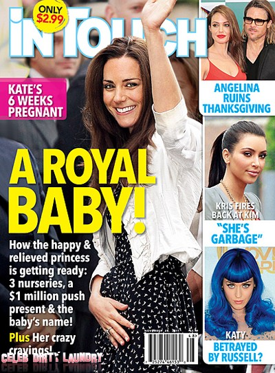 Kate Middleton 6 Week's Pregnant!  (Photo)