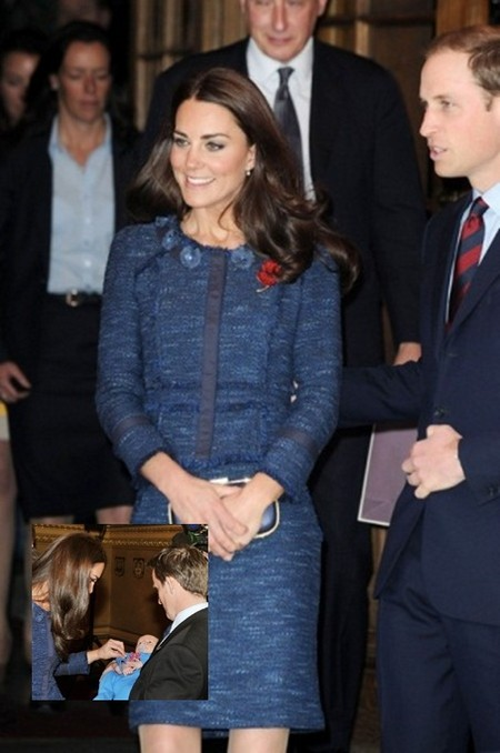 It's Baby Time For Kate Middleton and Prince William (Photo)