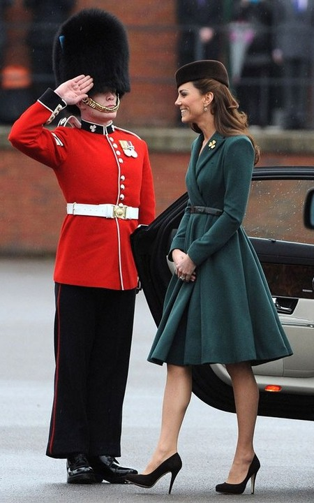 Kate Middleton Graces St. Patrick's Day Event Without Prince William