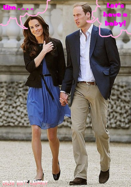 Prince William Wants A Baby From Kate Middleton Now