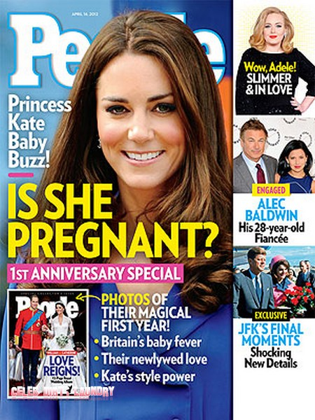 Prince William and Kate Middleton Ready For A Baby!  (Photo)