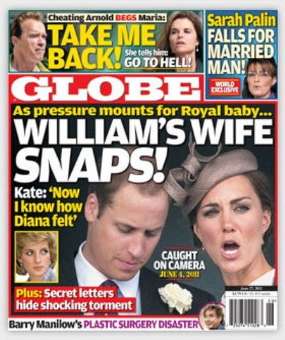 Prince William's New Wife Kate Middleton Has A Meltdown