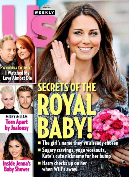 Kate Middleton Baby Secrets Revealed - What's Her Nickname For Her Baby Bump? 0313