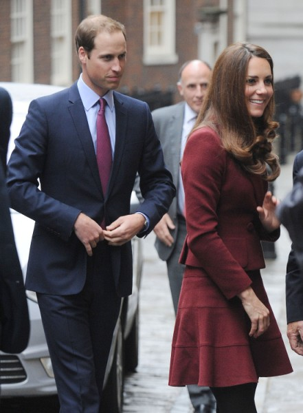Prince William Deserts Kate Middleton After Topless Photo Scandal 1009