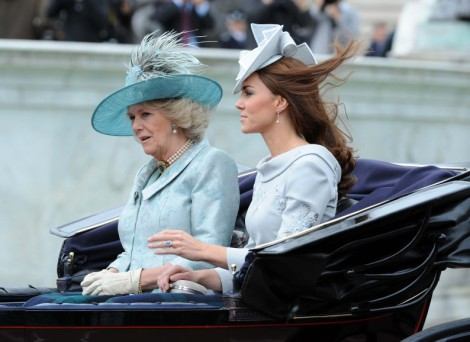 Kate Middleton And Camilla Parker-Bowles Fight To Be The Next Queen 1114
