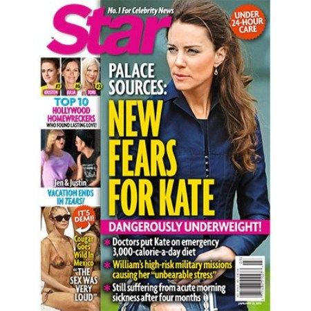 Kate Middleton Is Dangerously Underweight - Prince William and Queen Elizabeth Terrified of Miscarriage
