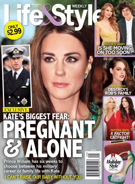 Kate Middleton's Biggest Fear Is She Will Be Pregnant and Alone