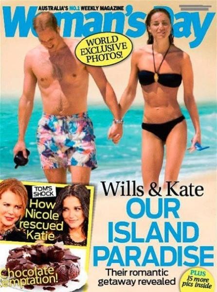 Kate Middleton Pregnant In A Bikini! Paparazzi Strike Again While Royals On Vacation 0211