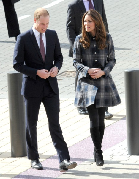 Kate Middleton And Prince William Already Planning Baby No. 2! (Video) 0404