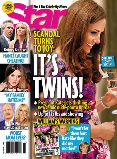 Kate Middleton Pregnant With Twins! Real Reason For Prince William's Anger Over Photos 0919