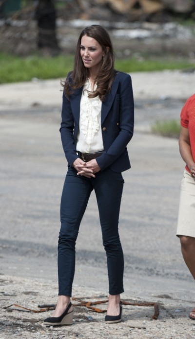 Who's Calling Kate Middleton Too Skinny Now? 0905
