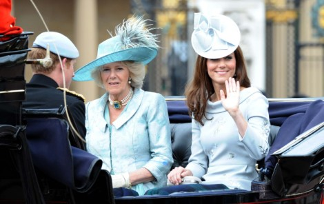 Kate Middleton's Baby Girl To Steal Camilla Parker-Bowles' Title, Princess Of Wales? 0122