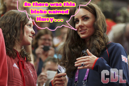 Before Kate Middleton Loved Prince William, She Loved Harry!