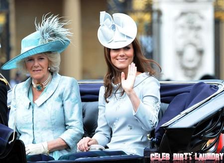 Kate Middleton Cries On Camilla Parker-Bowles' Shoulder