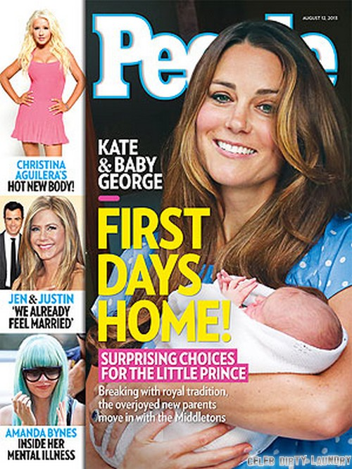 Kate Middleton With Prince George and Prince William: Breaking Royal Tradition - Living At Home With The Middletons (PHOTO)