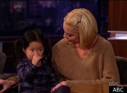 Katherine Heigl Introduces Daughter On Jimmy Kimmel (Video)