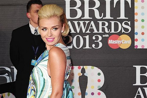 Katherine-Jenkins-BRIT-Awards-2013-red-carpet-arrival