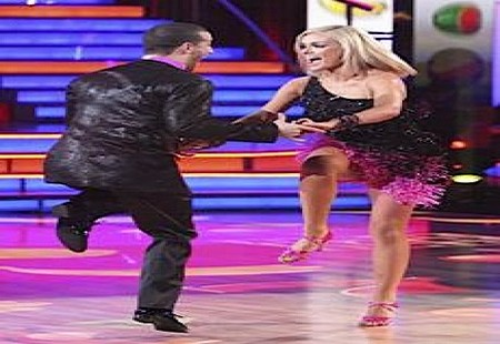 Katherine Jenkins Dancing With The Stars Quickstep Performance Video 5/14/12