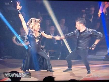 Katherine Jenkins Dancing With The Stars Samba Performance Video 4/23/12