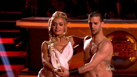 Katherine Jenkins Dancing With The Stars Cha Cha Performance Video 5/7/12