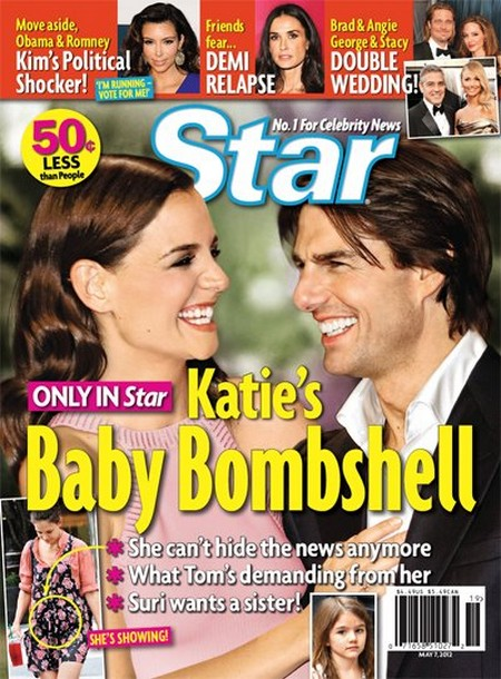 Report: Katie Holmes Pregnant With Second Child And Tom Cruise Is Ecstatic