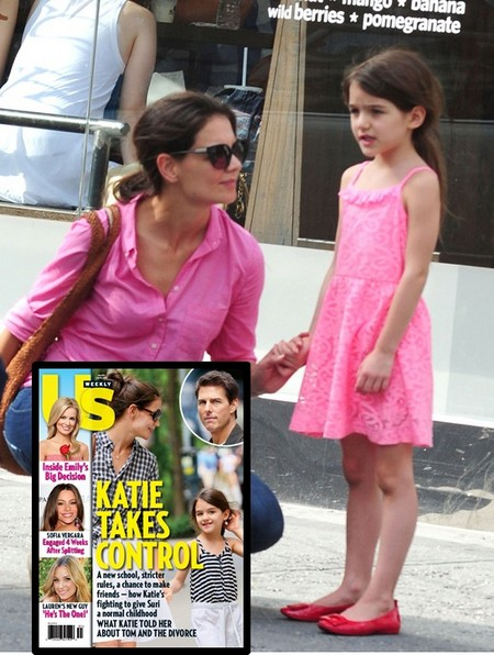 What Katie Holmes Told Suri Cruise About The Divorce 0718