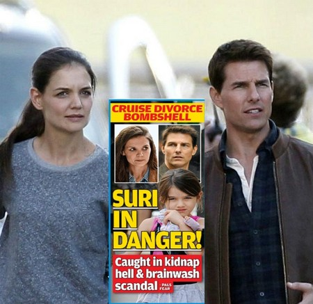 Katie Holmes Worried Suri Cruise In Danger Of Being Kidnapped (Photo) 0711
