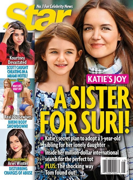 Katie Holmes Adopting: A Sister For Suri Cruise 1114