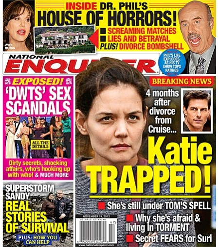Katie Holmes Trapped By Tom Cruise, Still Living In Fear! 1107