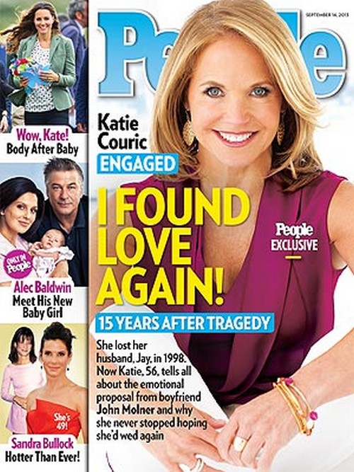 Katie Couric Discusses Engagement To Financier John Molner (Photo)