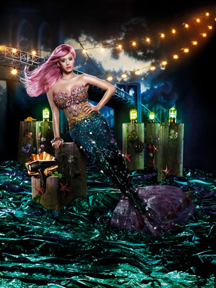 Katy Perry Has Channeled Her Inner Mermaid For A New Ad