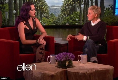 Katy Perry Talks Divorce With Ellen