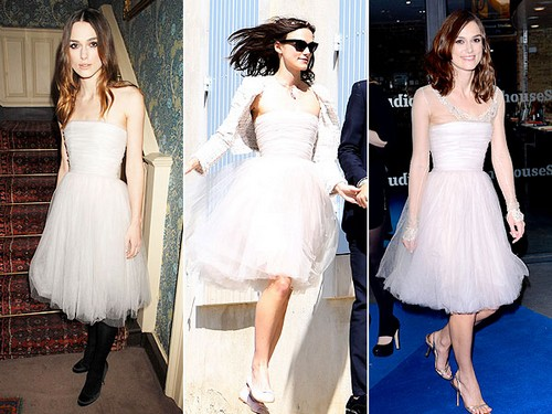 Keira Knightly Wears Wedding Dress Third Time: Beautiful and Practical?