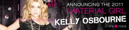 Kelly-Material-Girl-ad