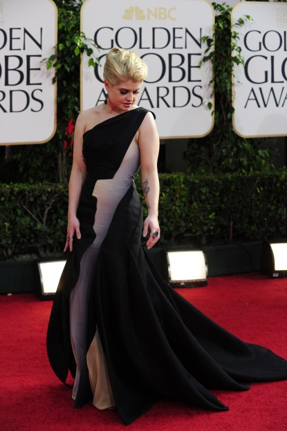 Kelly-Osbourne-68th annual Golden Globe awards