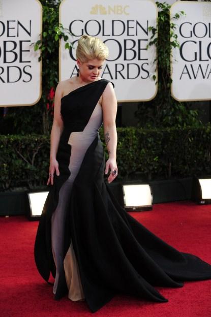 Kelly-Osbourne-68th annual Golden Globe awards