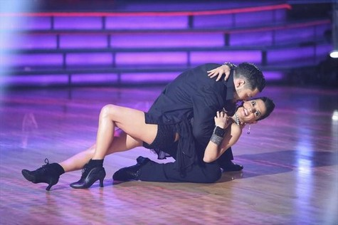 Kelly Monaco Dancing With the Stars All-Stars tango Performance Video 10/29/12