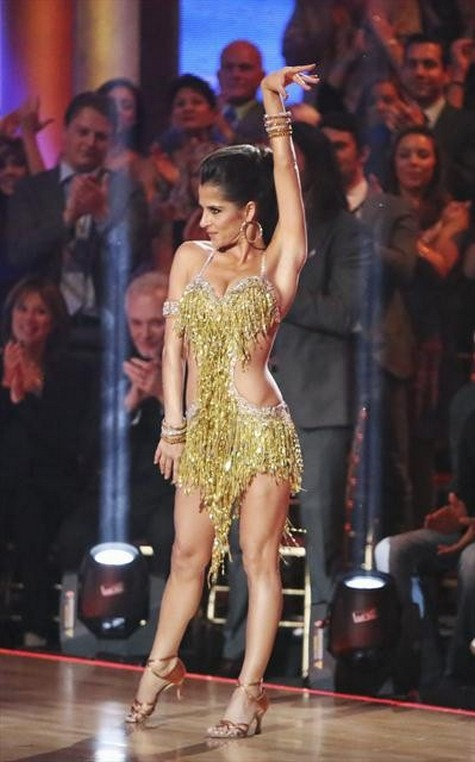 Kelly Monaco Dancing With the Stars All-Stars Quickstep Performance Video 10/01/12