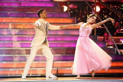 Kelly Monaco Dancing With the Stars All-Stars Paso Doble Performance Video 10/8/12