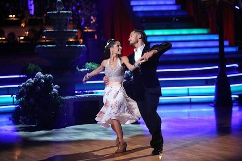 Kelly Monaco Dancing With the Stars All-Stars Viennese Waltz Performance Video 11/12/12