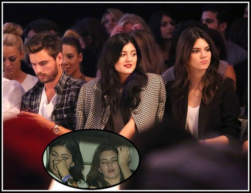 Kendall Jenner and Kylie Jenner Partying Underaged At 21+ Sex LA Club With Scott Disick Illegally (PHOTOS)