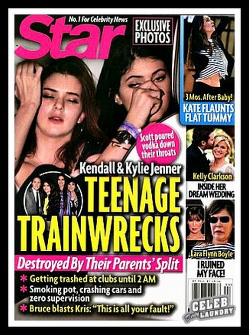 Kim Kardashian Worried Kendall And Kylie Jenner Are Becoming Famewhore Sexpots - Blames Kris Jenner! (PHOTO)