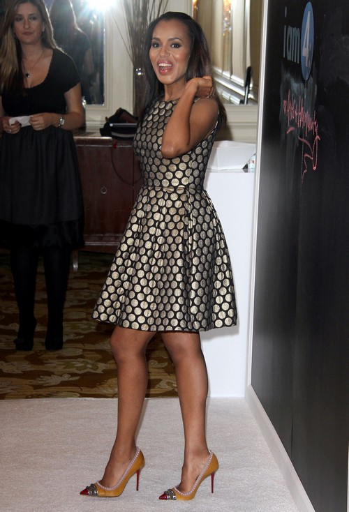Kerry Washington Pregnant with Obvious Baby Bump: Pregnancy Well Advanced? (PHOTOS)
