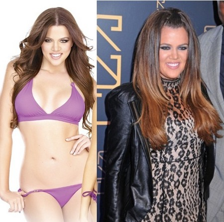 Khloe Kardashian Struggles In Vain To Lose Weight – She Is Huge! (Photo)