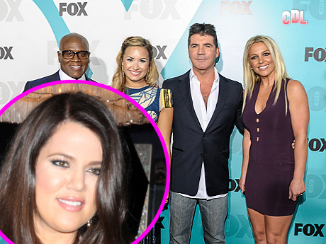 Simon Cowell Chooses Khloe Kardashian to Host X-Factor!