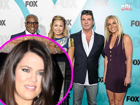 Simon Cowell Chooses Khloe Kardashian to Host X-Factor!