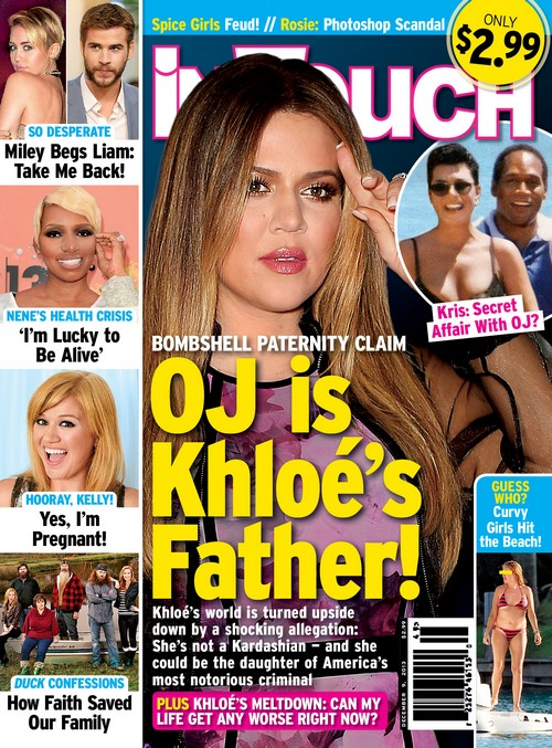Khloe Kardashian's Real Biological Father is OJ Simpson - Report (PHOTO)