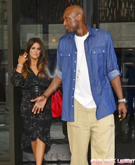 Khloe Kardashian Using Sister Kim's Secret Techniques To Get Pregnant - Lamar Odom Cooperates