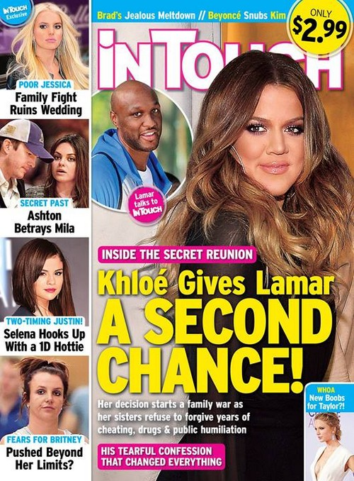 Khloe Kardashian Gives Lamar Odom a Second Chance - Secret Meeting Hookup (PHOTO)